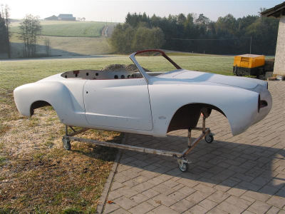 Restaurationsbericht VW Karmann Ghia Cabriolet