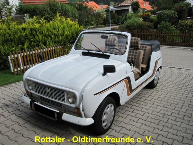 renault r4 cabriolet. Black Bedroom Furniture Sets. Home Design Ideas